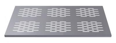 STAINLESS STEEL PERFORATED SHELF